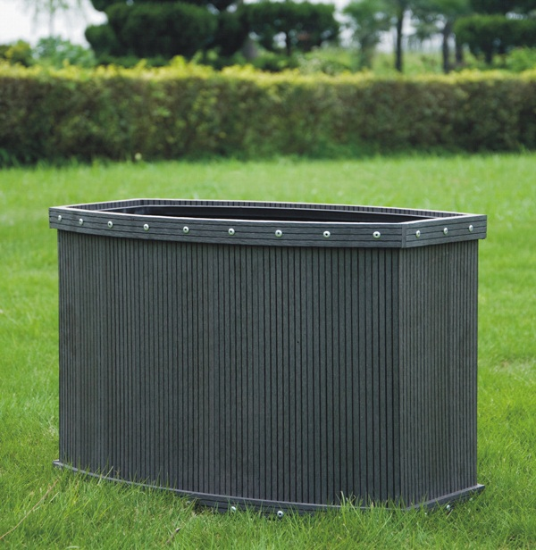 Composite Pvc Planter Boxes For Decks And Patios: Hong Ye Eco Technologies