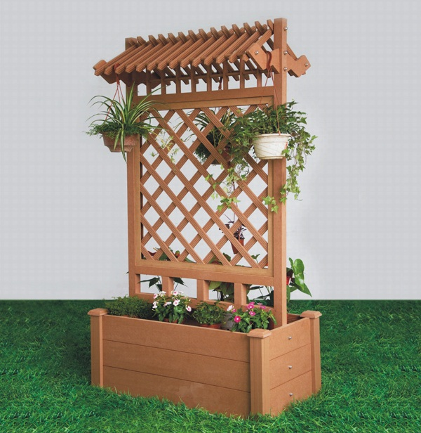 Planter Boxes Made From Composite Decking All Kind Of Wpc: HongYe: Buy Composite Wood Products Online Singapore
