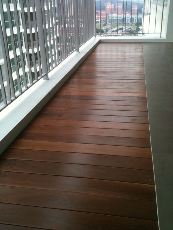Hongye timber decking solid timber deck singapore hong for External timber decking