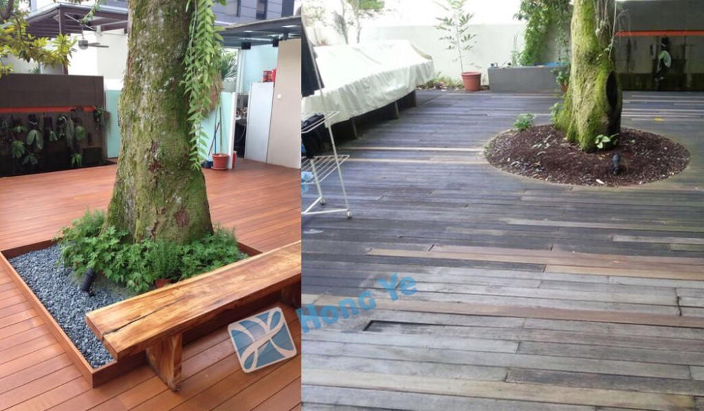 Decking Before & After